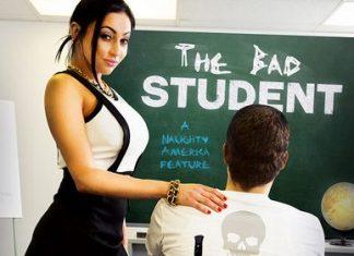 "Audrey Bitoni, Xander Corvus In My First Sex Teacher – ""The Bad Student"""