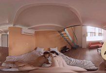 Hot roommates enjoy their great sex