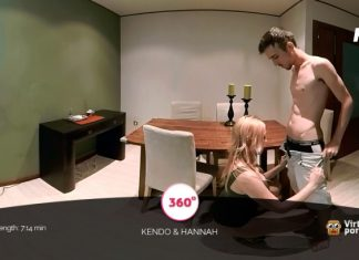 Horny blonde Hannah wants sex