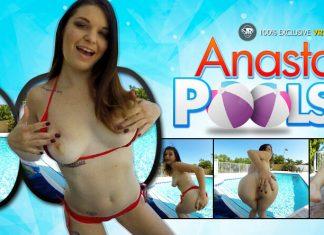 Anastasia Poolside
