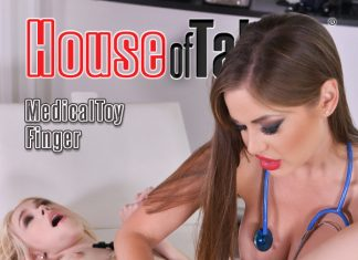 The Visit – Domina Doc Examines Blonde's Fuckholes