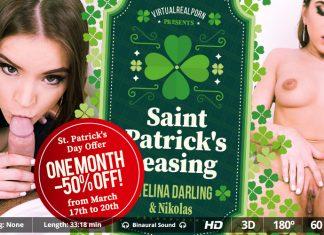 Saint Patrick's teasing