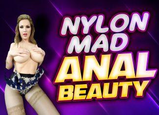 Nylon Mad Anal Beauty Carol Gold