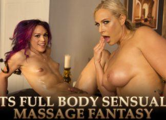 TS Full Body Sensual Massage Fantasy