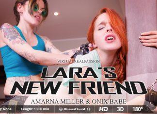 Lara's New Friend