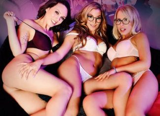 "Jade Nile, Moka Mora, and Zoey Monroe in ""Silicon Valley Sex Party"""