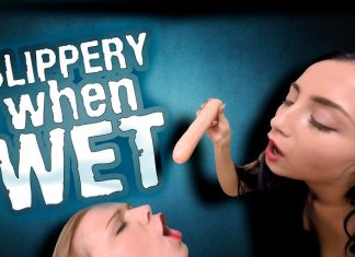 Slippery When Wet starring Alexis Crystal and Anna Rose