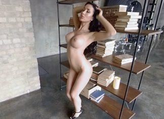 Burning by the Bookshelf