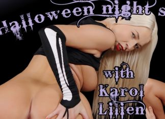 Halloween night sex treat