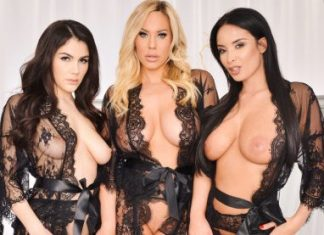 "Anissa Kate, Olivia Austin, Valentina Nappi in ""The Dressing Room"""