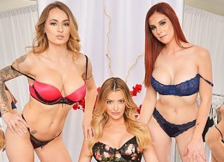 "Lilian Stone, Linzee Ryder, Natasha Starr in ""The Dressing Room 4"""