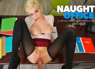 "Skye Blue in ""Naughty Office"""