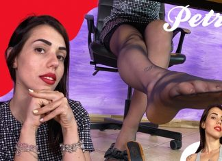 Sexy Boss Petra Knows You Have A Foot Fetish