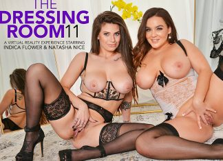 "Indica Flower, Natasha Nice in ""The Dressing Room"""