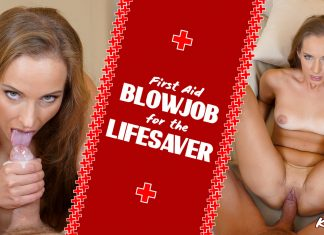 First Aid Blowjob for The Lifesaver