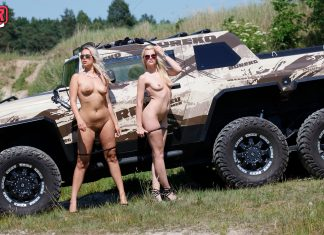 Izzy and Nikky – Two Girls, One Hummer