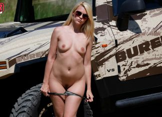 Izzy Delphine – All-Terrain Striptease