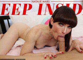 Natalie Mars In Deep Inside Natalie Mars!
