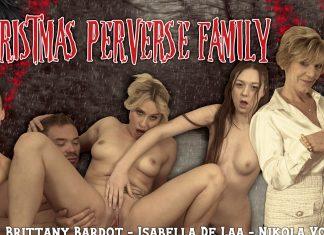 Christmas Perverse Family
