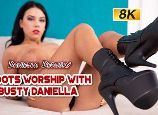 Boot Worship With Busty Daniella