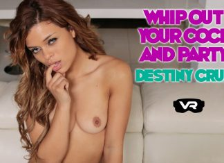 Whip Out Your Cock & Party With Destiny Cruz – VR JOI