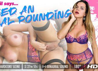Hilda Brasil – I Need An Anal Pounding!