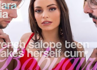 French Salope Teen Makes Herself Cum