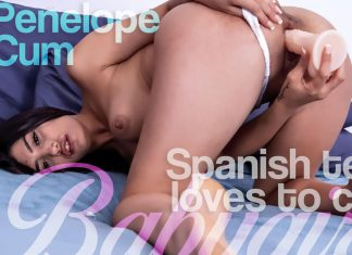 Spanish Teen Loves to Cum