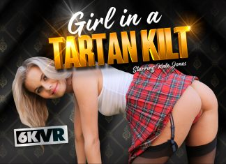 Girl in the Tartan Kilt