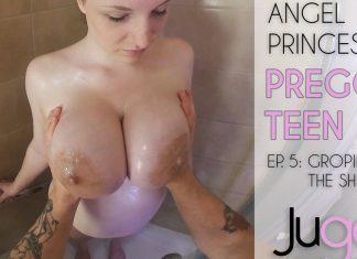 Groping A Busty Pregnant Teen