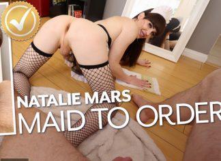 Natalie Mars in Natalie Mars: Maid To Order!