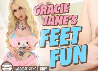 Gracie Jane in Gracie Jane's Feet Fun!