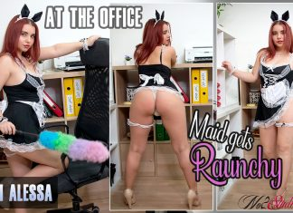 At the Office – Maid gets Raunchy