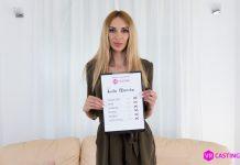 Ukraine Babe on Anal Casting