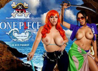 ONE PIECE: Nami and Nico Robin A XXX Parody