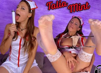 Hot Nurse Talia Mint Has A Special Vaccine For You