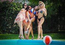 Sharing Hubby With Pool Girlfriends