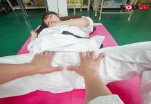 A Constantly Bossy Karate Club Member Gets A Tough Massage