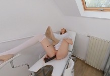Pale Ginger Nurse Tries Melanin Injection By BBC