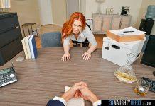 "Madison Morgan in ""Naughty Office"""