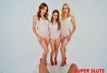 """Ashley Lane, Chloe Cherry, Laney Grey in """"Super Sluts"""""""