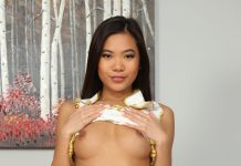 Vina Sky is here in VR on BaberoticaVR and she brought her amazing tits and ass